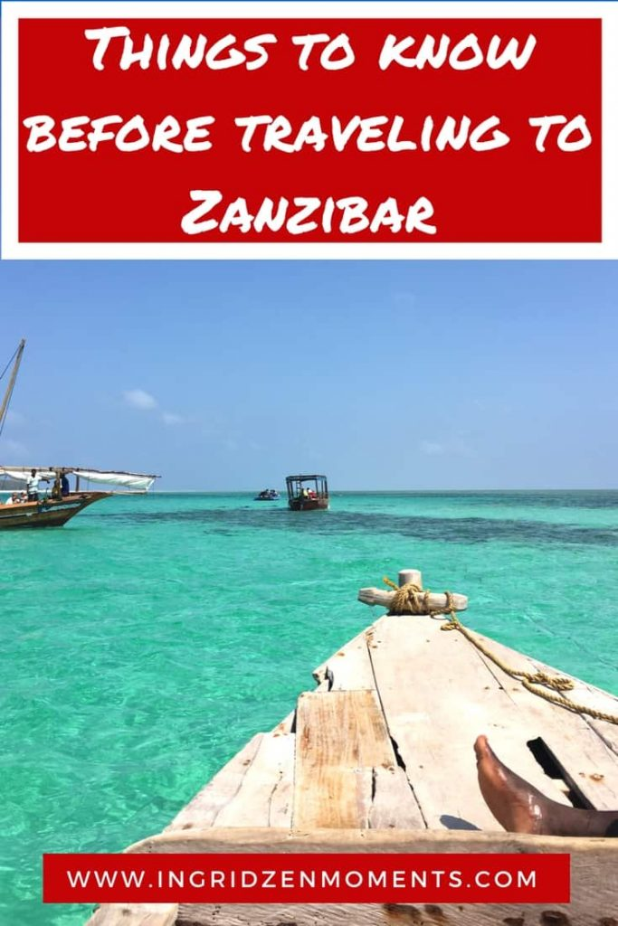 Things to know before traveling to Zanzibar | IngridZenMoments