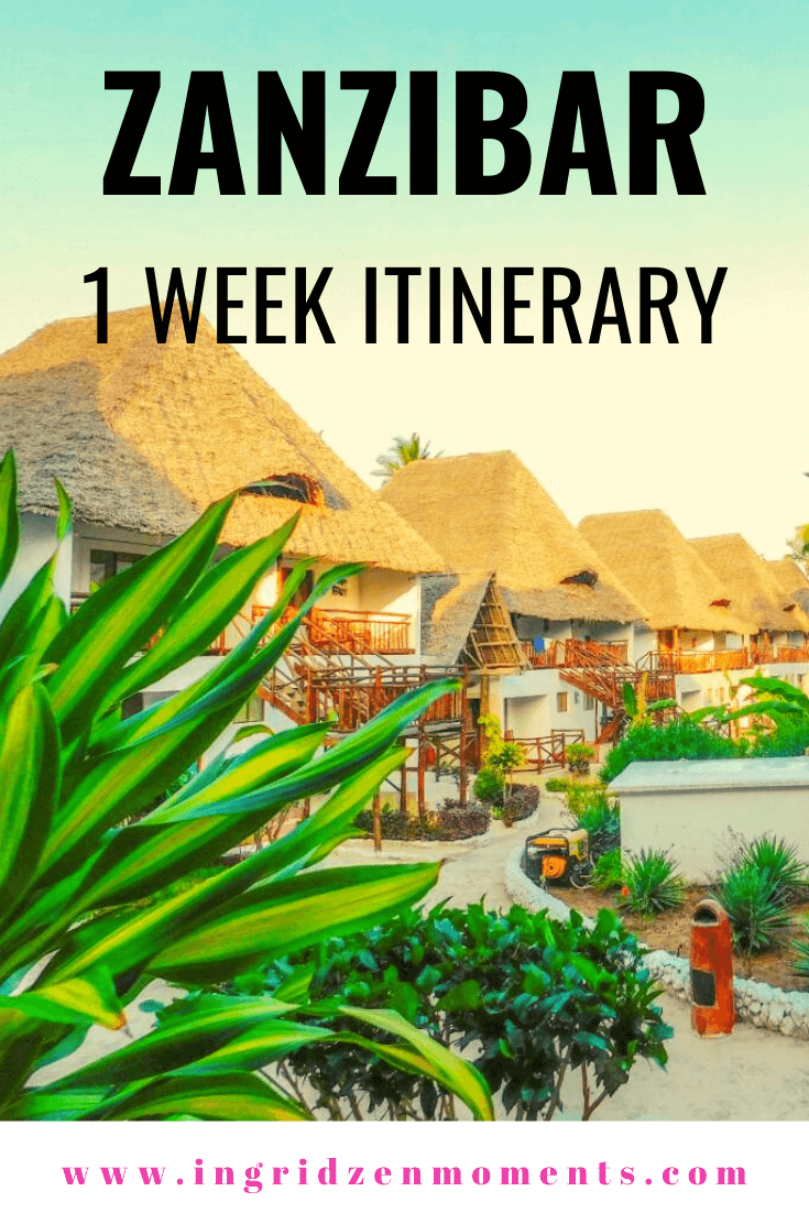 One week in Zanzibar itinerary and everything you want to know bwfore traveling to Zanzibar. All the things to do in Zanzibar and why I loved the island so much.