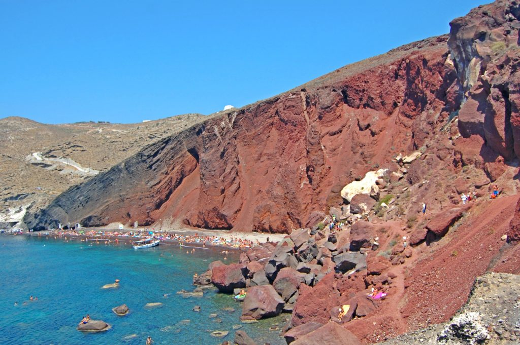 Santorini Island beaches