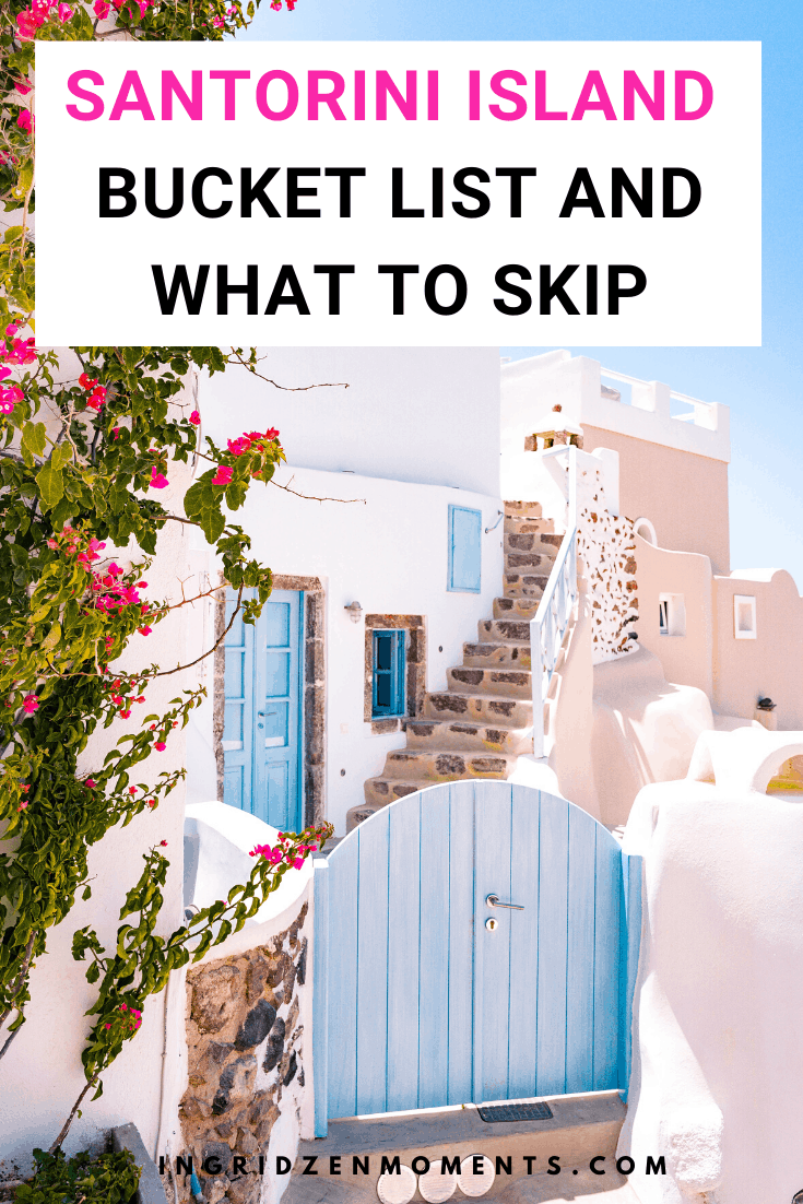 Find out how to make the best out of your vacation on one of the best Greek Islands: Santorini Greece. Everything you will not read anywhere else, along with Greece Santorini things to do and much more. #santorini #greece #greekislands