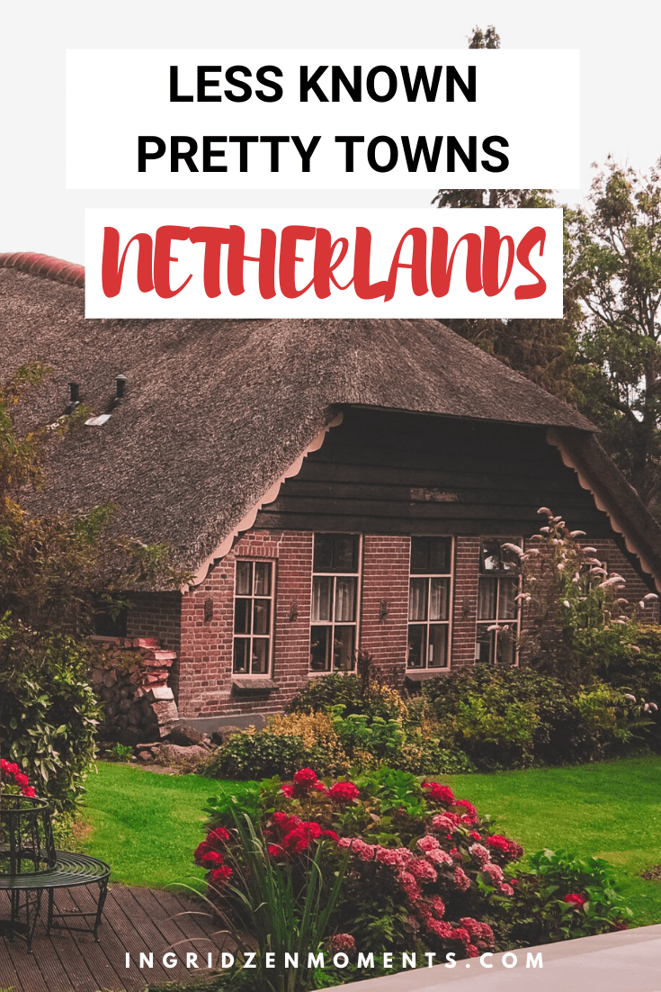 Netherlands travel destinations you will fall helplessly in love with. Windmills, tulip fields, pretty colorful houses: everything you must see on an Amsterdam day trip. There is simply so much you can do on a day trip from Amsterdam, and you shouldn't miss. These are some of the most beautiful places in the Netherlands. #netherlands #villages #amsterdam #daytrip