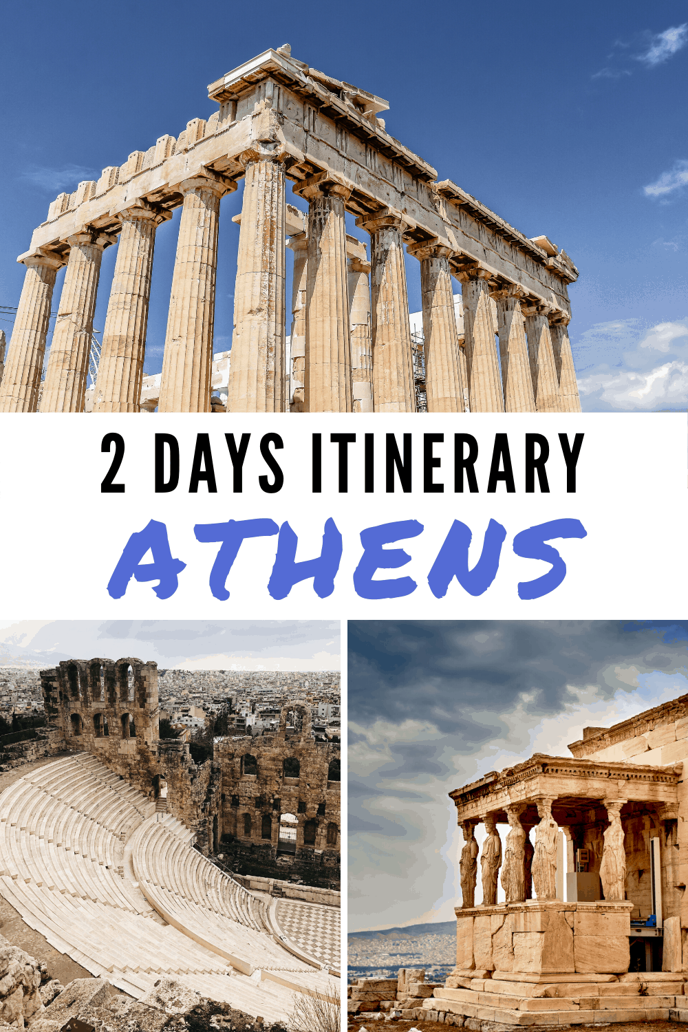 Athens 2 days itinerary