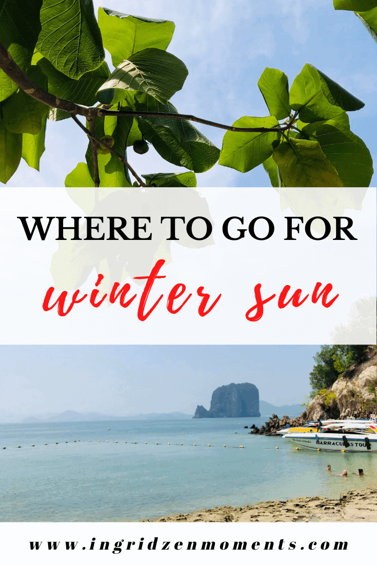 Where to go for winter sun - best winter sun destinations, spend Christmas on the beach or just run for the winter in Europe or in the US. Great options for winter sun destinations in Europe or Asia.