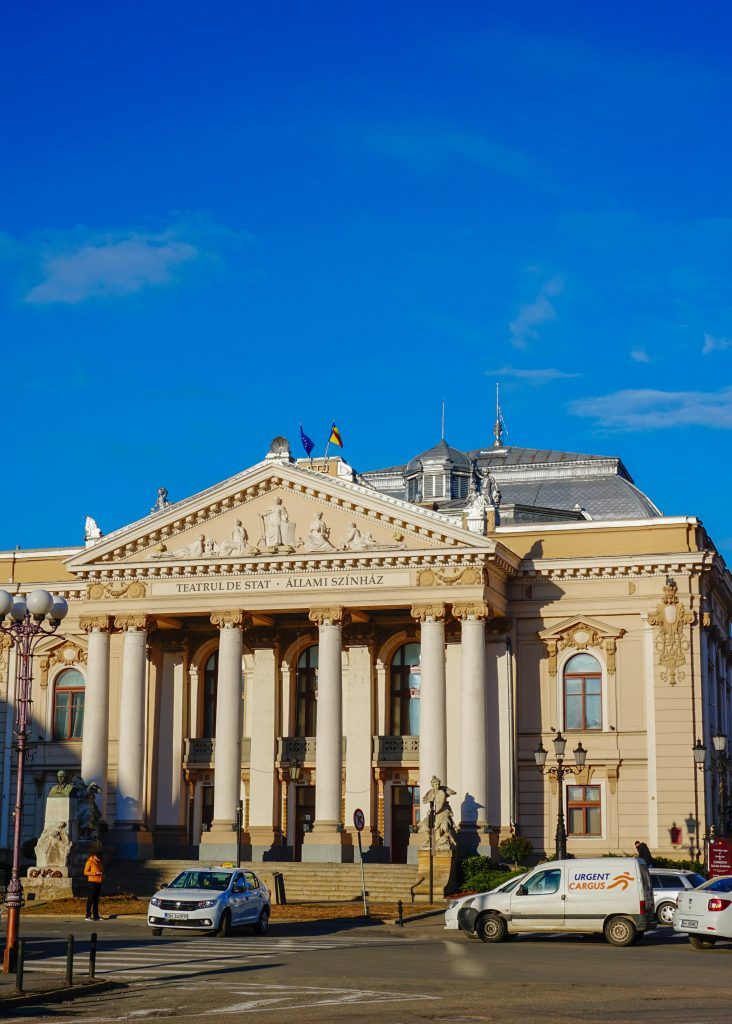 National Theater in Oradea