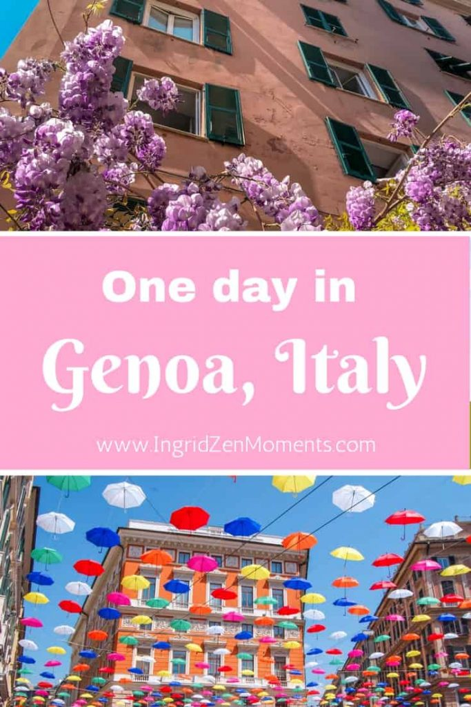 Genoa Italy things to do and places to see, without being bothered by hundreds of tourists. #Genoa #italy #thingstodoinGenoa