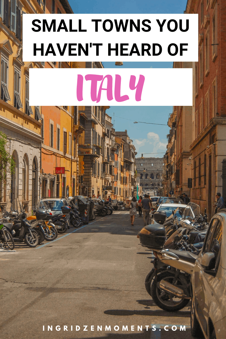 Put these beautiful places in Italy on your next travel to Italy list and enjoy an authentic Italy trip without the crowds. If Rome, Venice, or Florence are too much, choose these less known small towns in Italy for your Italy travel itinerary.