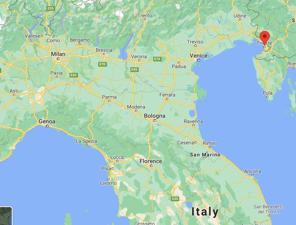 How to get to Trieste