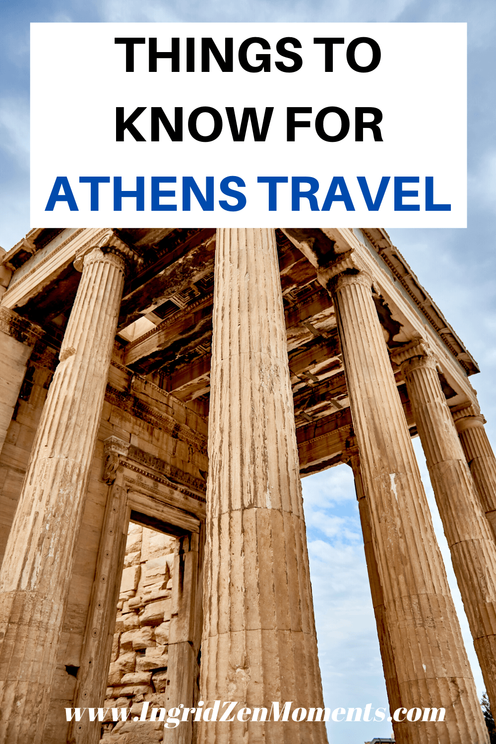 Athens Greece vacation tips, things you must know when you travel Greece #greece #athens #travel