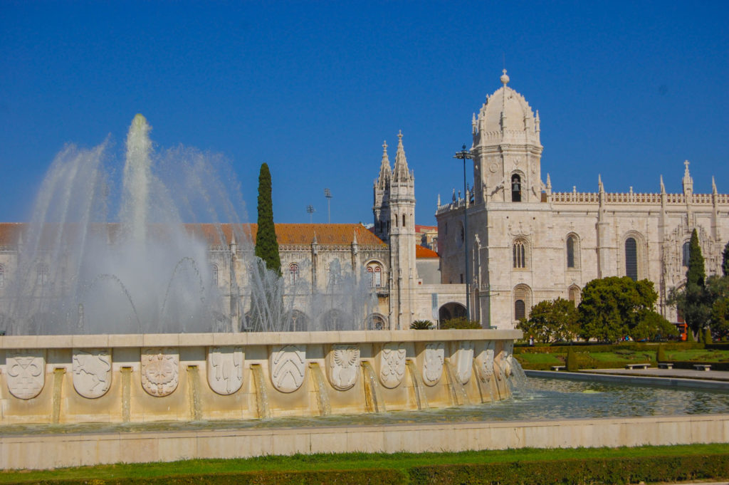 Jeronimos Monastery in Lisbon Portugal