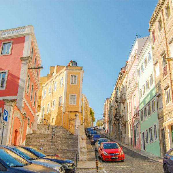 Lisbon in 4 days and its colorful streets