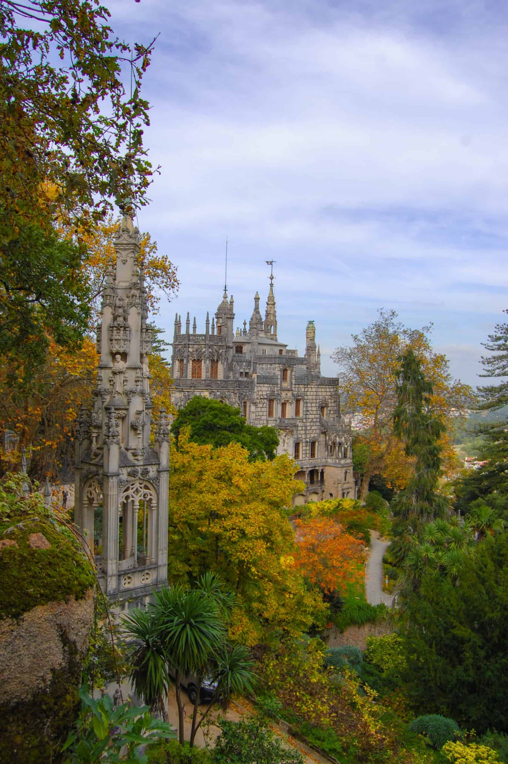 Visit Quinta da Regaleira as an option to Pena Palace