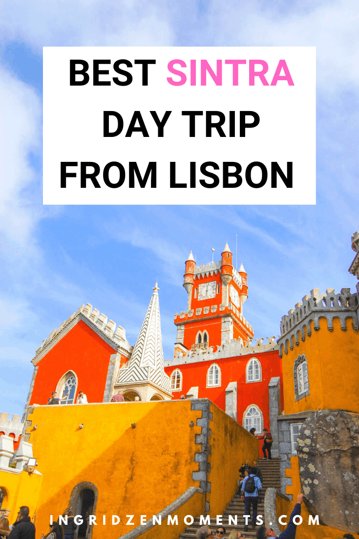 Sintra day trip from LIsbon, Portugal is the best Lisbon day trip you could take. Fit in as many castles of Portugal you could, take amazing Sintra photography with the most colorful palace in the world, and discover some stunning Portugal beaches along the way. The best Lisbon to Sintra day trip itinerary guide you'll find. #Sintra #lisbon #portugal #travel