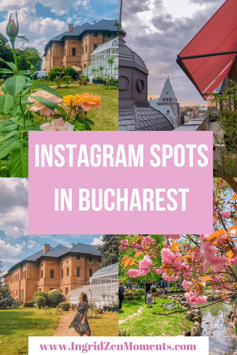 The most instagrammable places in Bucharest / Visit Bucharest / Bucharest travel guide / Bucharest attractions | Bucharest things to do | From Palace of the People to the Umbrella Alley to the Old Town of Bucharest, these are all the best photography locations in Bucharest | Bucharest Romania | Bucharest photos | Bucharest photography | Bucharest pictures | Eastern Europe travel | #romania #bucharest #travel #easterneurope