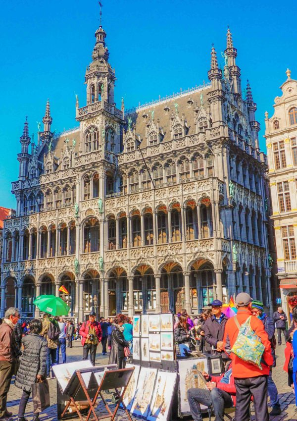 Chocolate and waffles: spending one weekend in Brussels