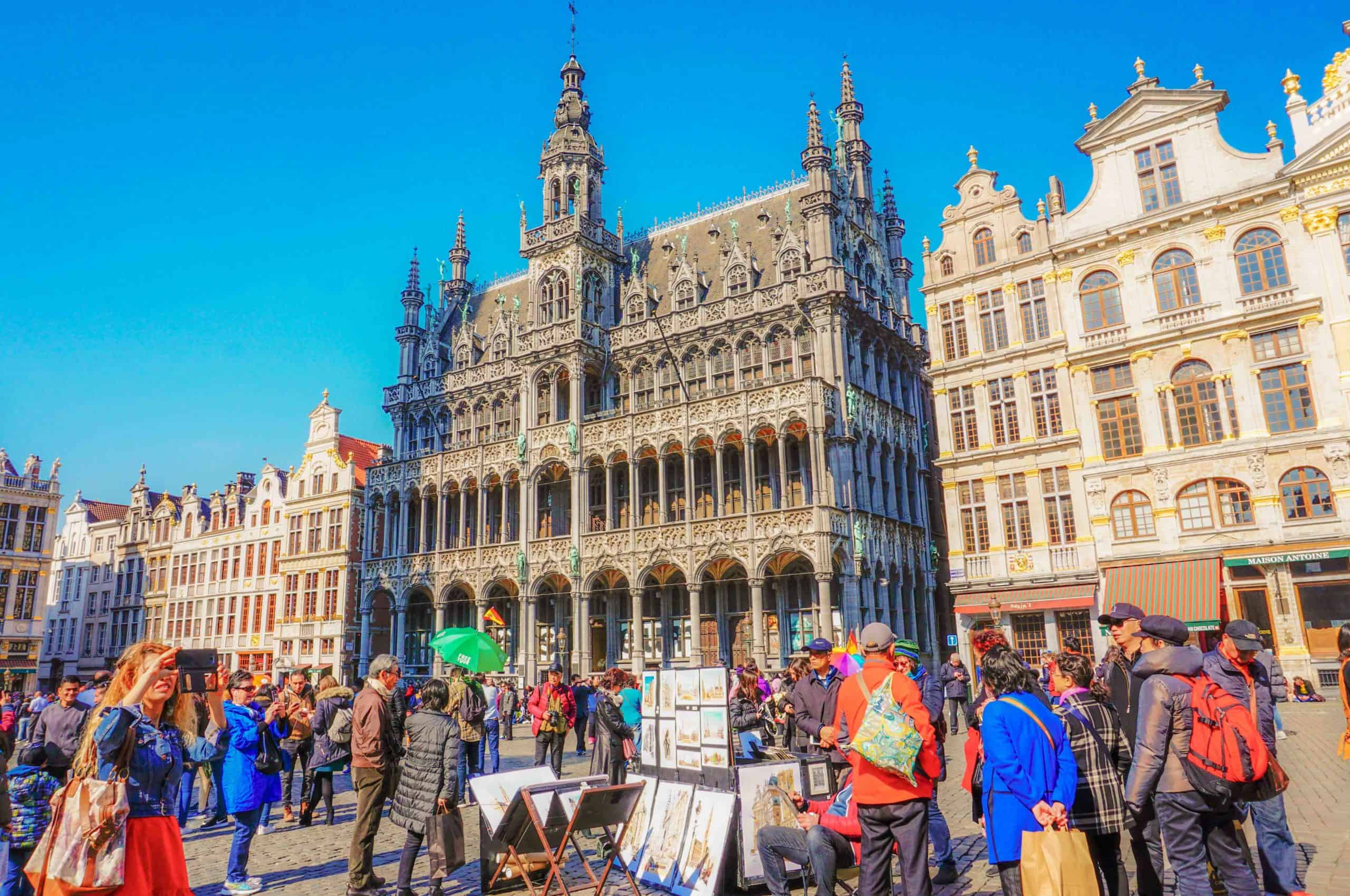 Places to visit in Brussels in 2 days
