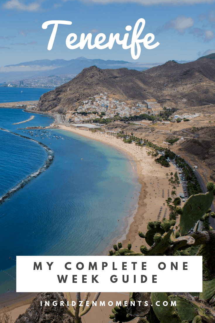 7 days in Tenerife itinerary