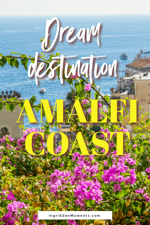 Your perfect Amalfi Coast itinerary for your next Italy vacation. Find out where to go in Southern Italy, and where to stay on the Amalfi Coast, all the bucket list locations on the Amalfi Coast, and things to do on the Amalfi Coast. #travelitaly #italyvacation #amalficoast #positano