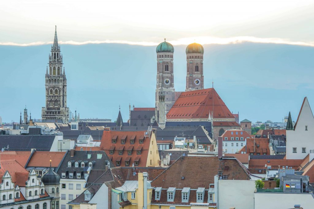 3 days in Munich in Summer
