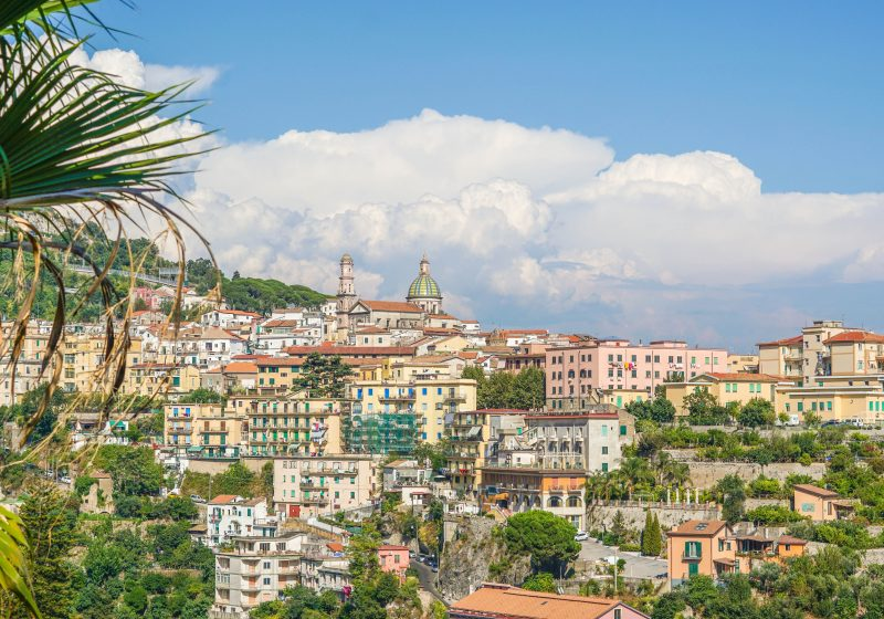 Vietri Sul mare view - best places to visit in Italy in May