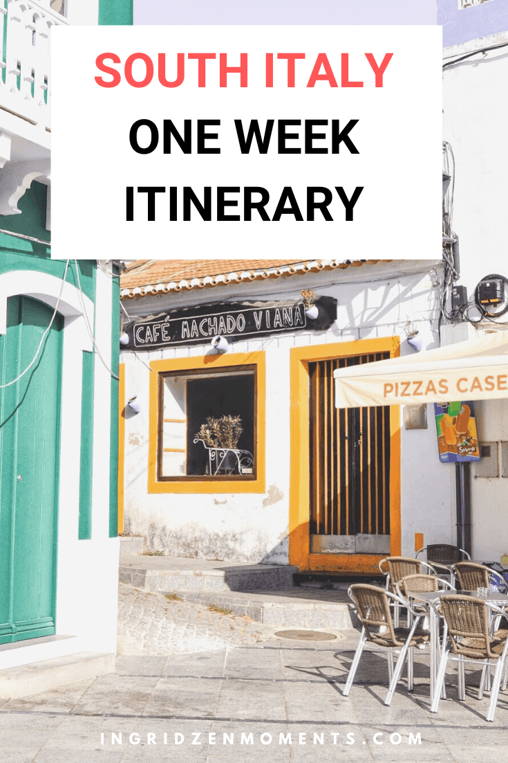 South Italy itinerary and your ultimate South Italy travel bucket list. Discover these beautiful Italy destinations you most probably haven't heard of, but need to see when you're travelling to Italy. #italy #southitaly #itinerary