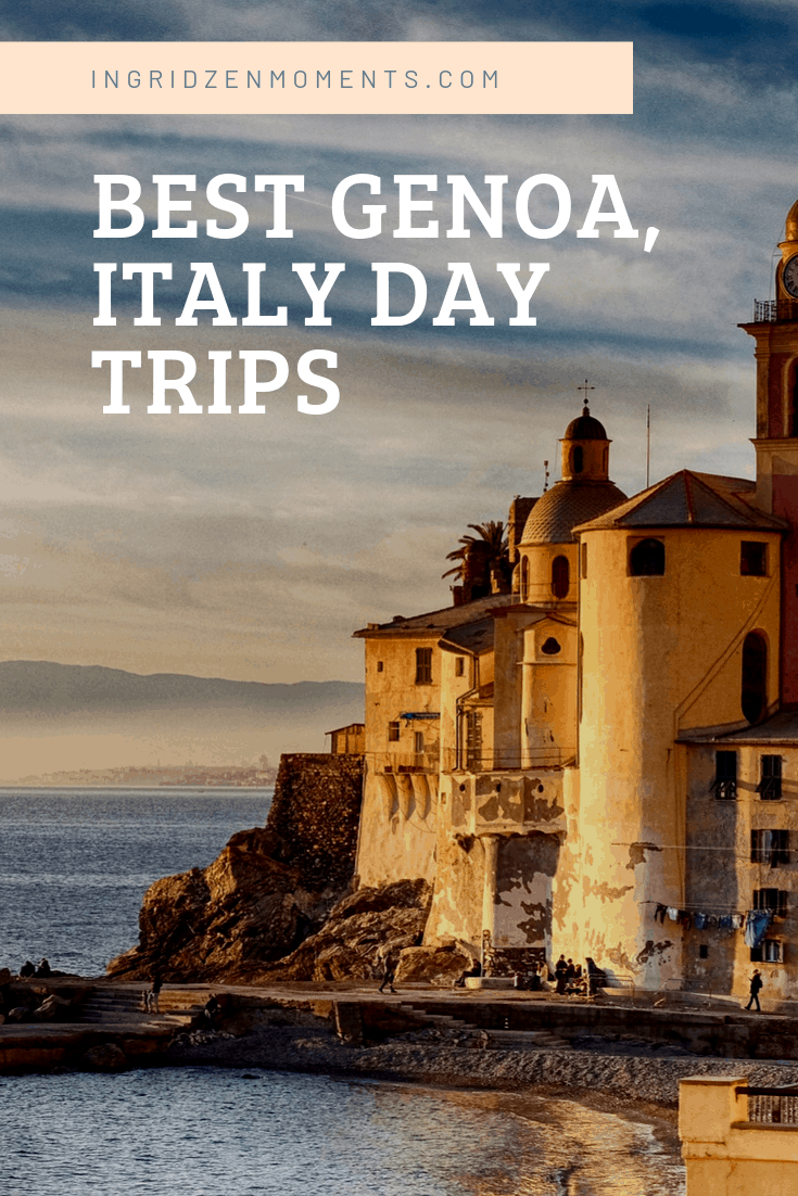 Best day trips from Genoa Italy. Where to go for a day trip from Genoa Italy, discover some beautiful Italy destinations. #italy #genoa #daytrip