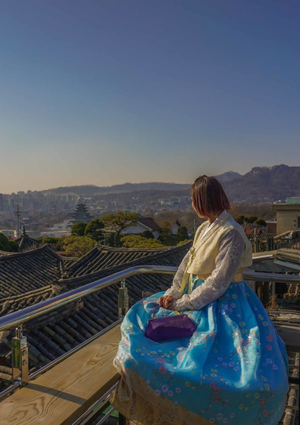 Oneday hanbok – renting a hanbok in Seoul