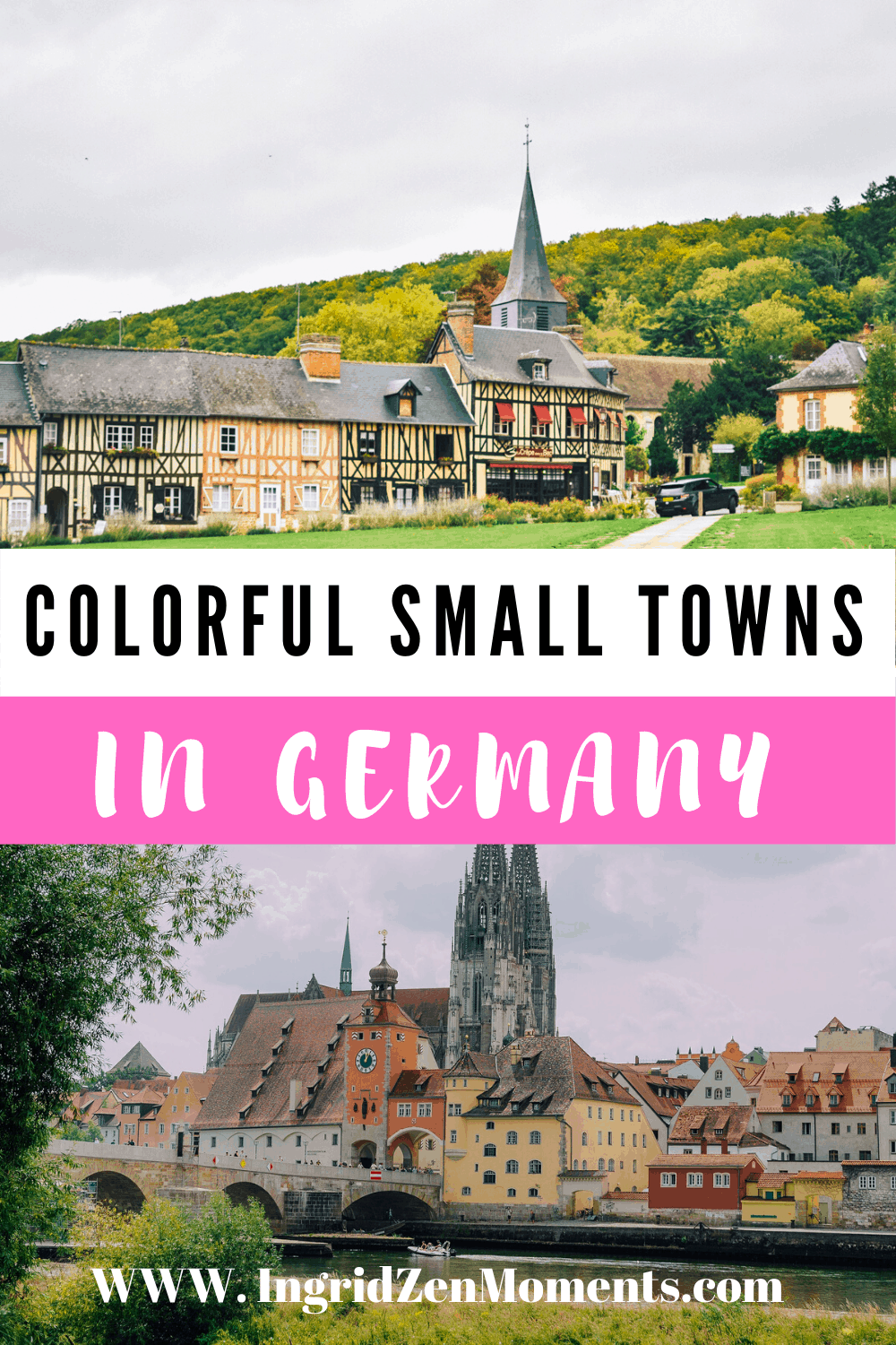 PRETTIEST SMALL GERMAN VILLAGES perfect for your Germany trip. Germany traveling which will make you fall in love. Make your way along Germany castles, colorful villages, hidden gems in Germany. Germany travel destinations recommended by travel bloggers. #germany #travel #villages #hidden #colorful