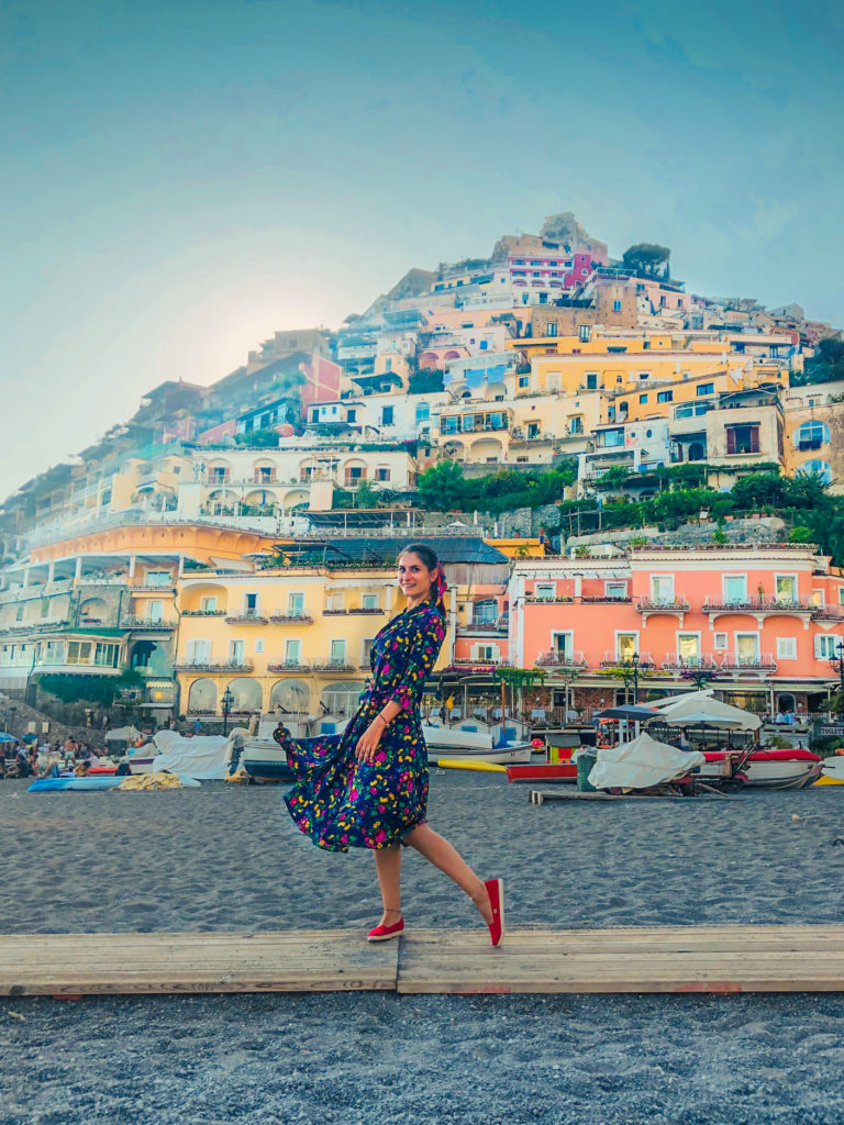 Positano background