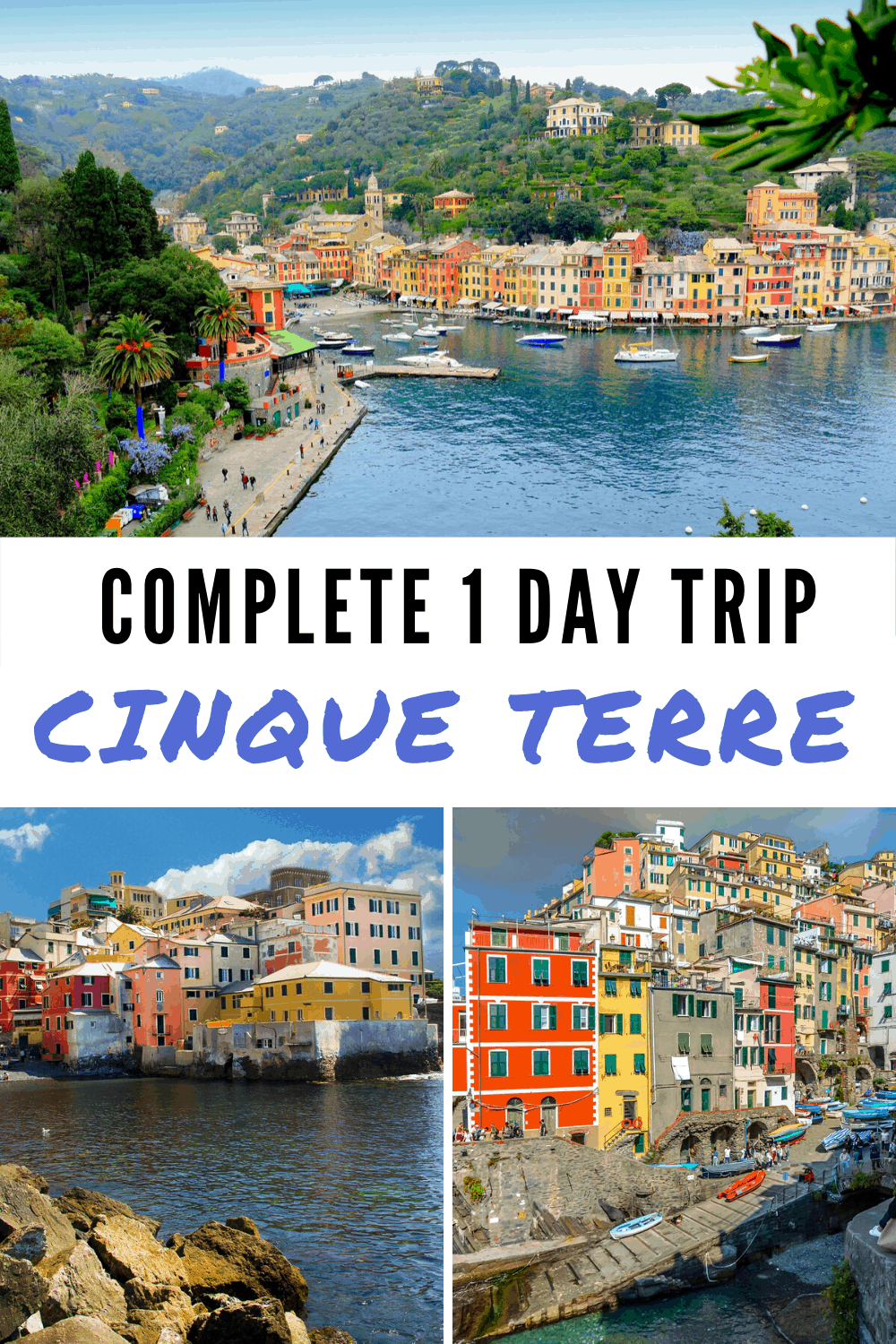 The perfect day trip to Cinque Terre itineraries you must check out! I'll help you best plan your Italy vacation and make the best out of your Cinque Terre from Florence day trip, or even Cinque Terre from Milan escape. Tips and tricks for when you travel Italy and want to live it to the fullest. See Riomaggiore, Vernazza, Manarola, Corniglia, and Monterosso and love it! #travel #italy #cinqueterre