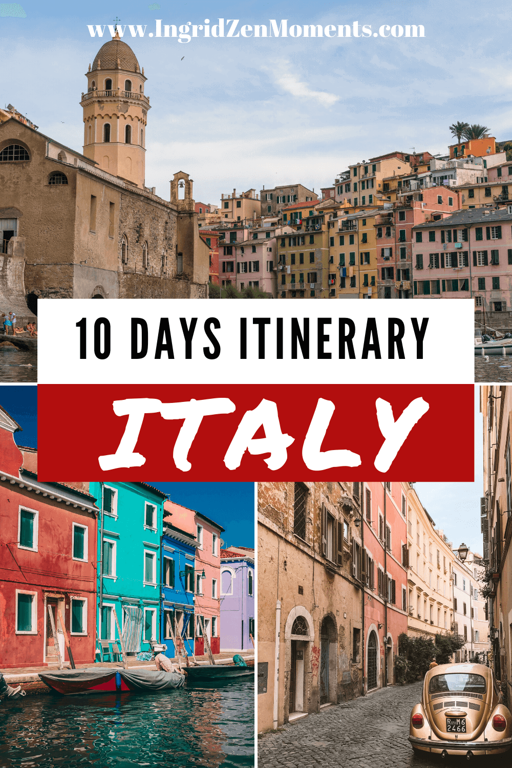 Planning a trip to Italy? Check out these 2 options for some of the best 10 days in Italy itinerary. All the Italy tips you know for traveling to Rome, Tuscany, the Amalfi Coast, and much more. Information on how to #skiptheline at places like the Vatican, Florence Duomo, and Pompeii. When to visit, where to stay, what to do, and much more. Choose to see Southern Italy or Northern Italy, but travel slow on your Italy trip, and see some of the most beautiful Italy destinations. #italy #travel