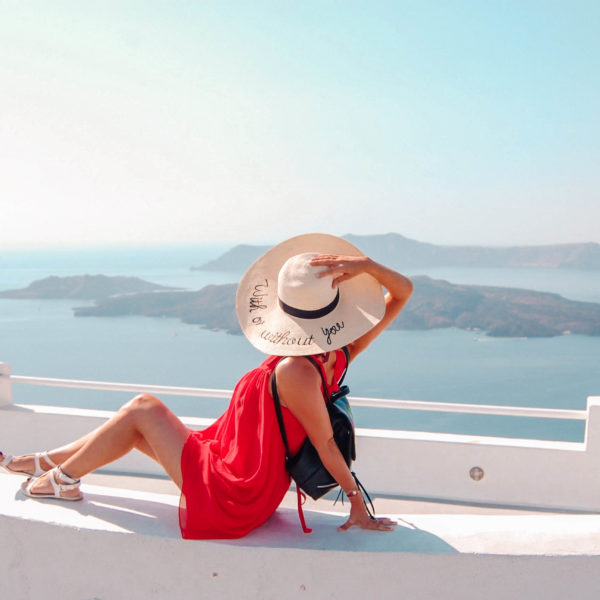 What to wear in Santorini Greece