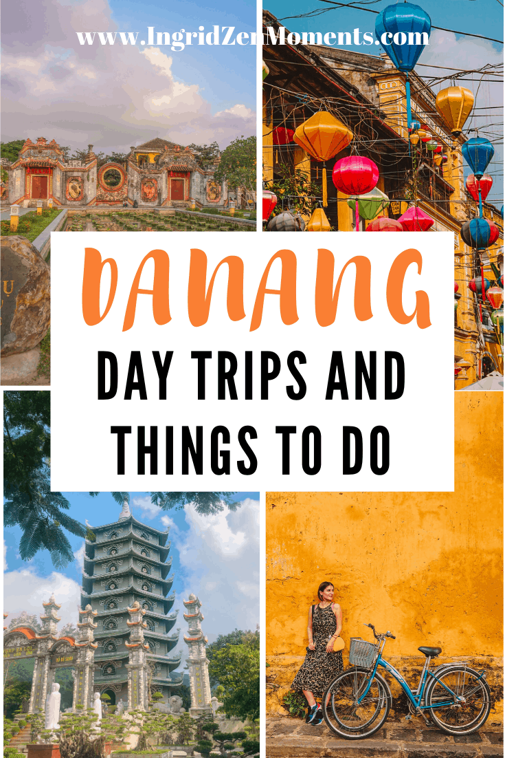 All the amazing things to do in Danang Vietnam and the perfect DaNang itinerary that will take you from Danang to Hoi An and from Danang to Hue. Know what to expect from your Central Vietnam trip and see where to stay in Danang, perfect day trips and Vietnam best cities, Hoi An things to do. #danang #vietnam #hoian #hue #travel