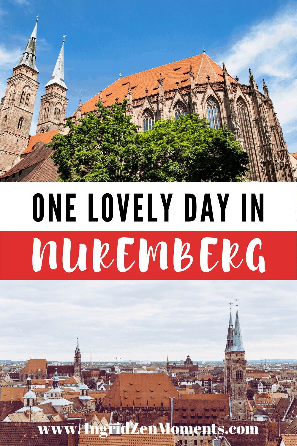Nuremberg Germany things to do and how to spend one day in Nuremberg. Find out all you need for your Germany itinerary and your day trip to Nuremberg. #germany #nuremberg #travel