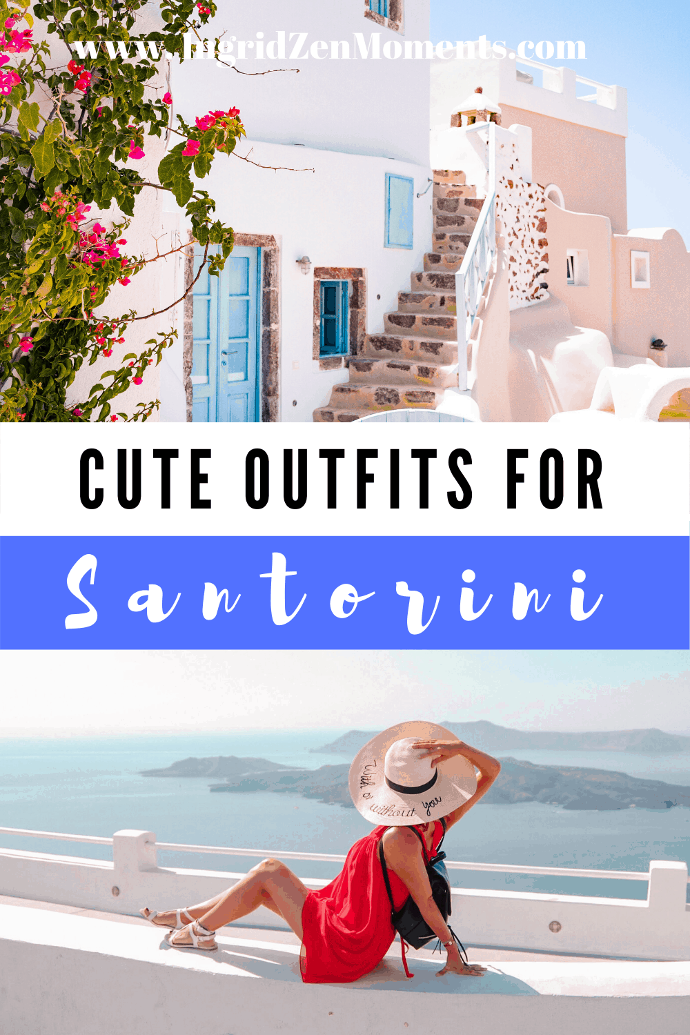 Outfit ideas for Santorini travel
