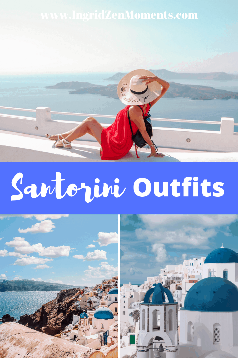 Your Ultimate guide to Santorini outfit ideas and what to pack for Santorini in Summer. You no longer have to wonder what to wear in Santorini for Spring or Summer, I give you some cute travel outfit ideas you will love for your Greece vacation in Santorini Island. I come to help also with some amazing Santorini photography spots for that Instagram perfect Santorini picture. santorini greece | greece outfit ideas | what to wear greece outfit | summer in greece outfit | greece outfit fashion | santorini greece outfits | santorini outfit ideas summer | what to wear in santorini summer