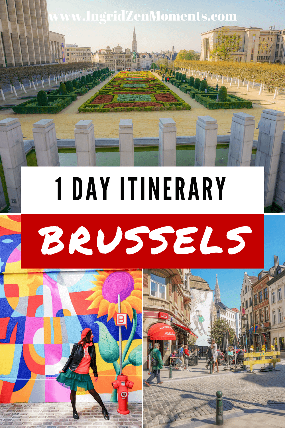 One day in Brussels itinerary - read my complete guide for spending 1 day in Brussels. Including where to stay in Brussels, what to eat in Brussels, and the city's highlights. #brussels #daytrip #europe #travel #traveltips #belgium