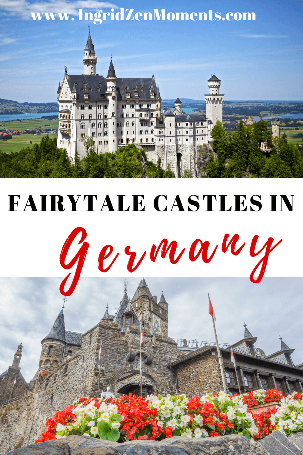 These are the best castles in Germany you must visit on your next Germany vacation. Neuschwanstein Castle, Germany Places to Visit | Germany things to do| places to visit in Germany