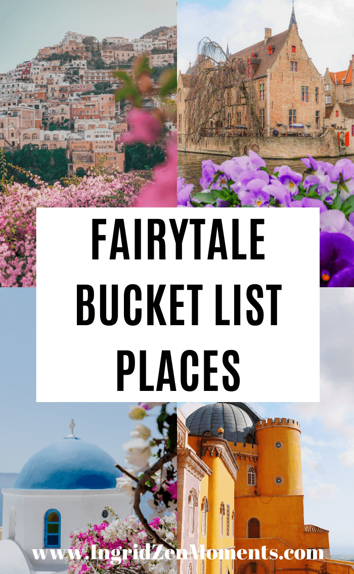 Need some fairytale bucket list destinations to look forward to for the future? Looking for some travel goals inspiration? Here are my bucket list destinations that must be seen at least once!