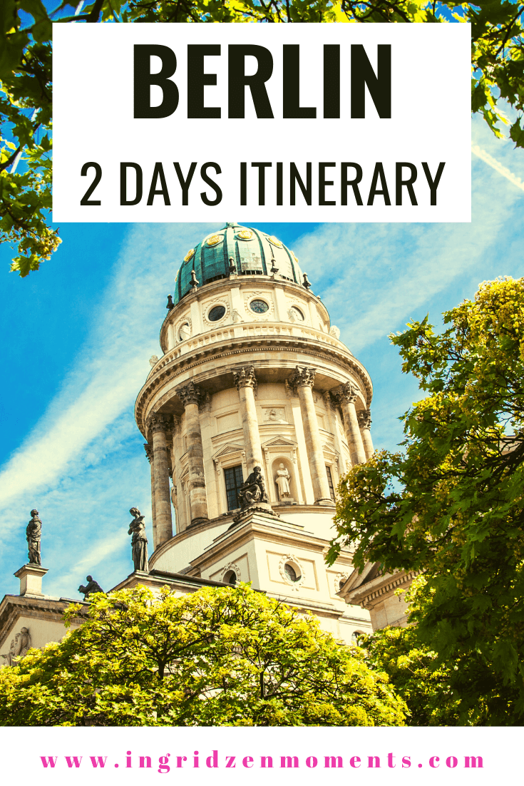 Berlin 2 day itinerary including where to stay in Berlin, things to do and see in Berlin, Museum Island in Berlin, what to eat and where to drink in Berlin for when you travel to Germany . #berlin #germany