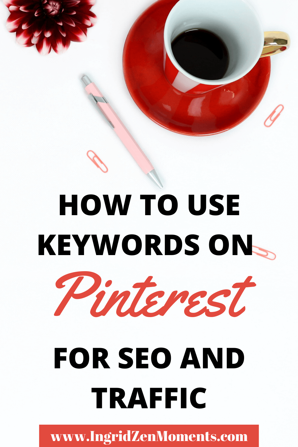 Read the complete guide of Pinterest keywords and everything you need to know in order to boost organic traffic on Pinterest. Get the best Pinterest marketing strategy, Pinterest tips, Pinterest SEO, Pinterest for bloggers and business, how to use Tailwind, how to find Pinterest keywords and rank for them. #pinterest #keywords #seo #marketing