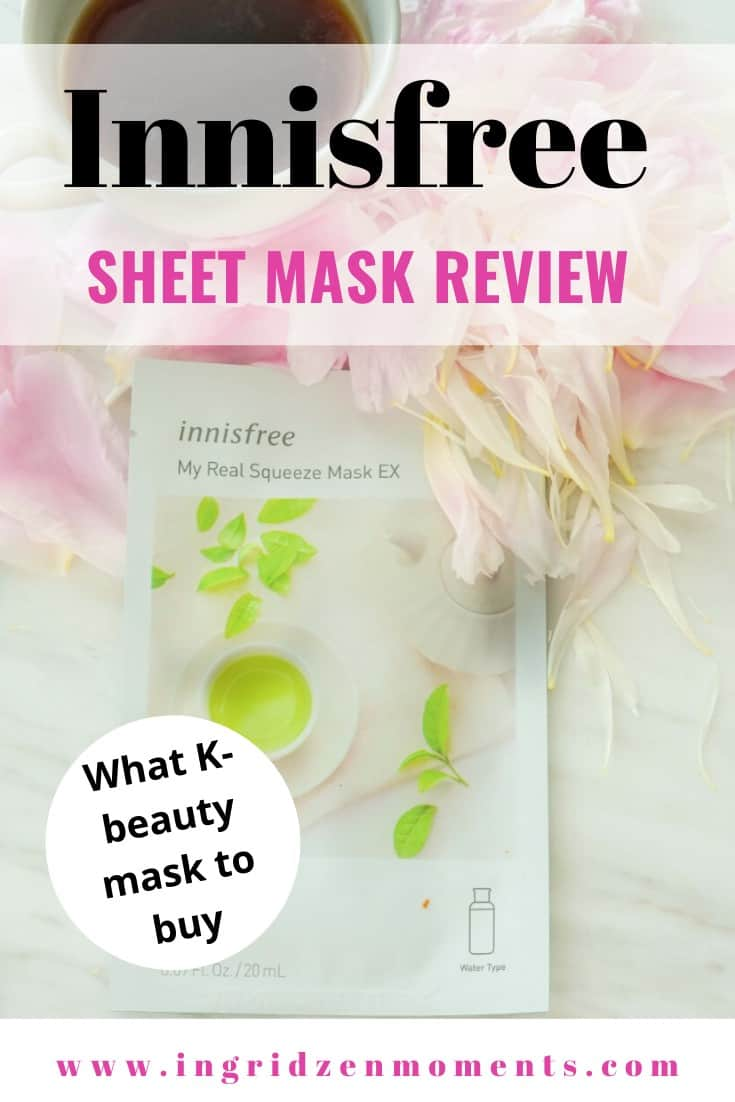 innisfree sheet mask review | Innisfree Sheetmask products you'll want to try in 2020 | innisfree sheet mask greentea