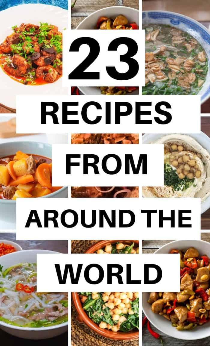 Recipes from around the world you will want to try today! (1)