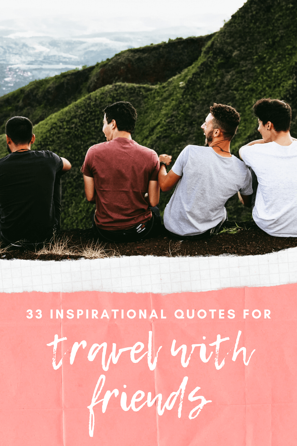 Quotes about travelling with friends and travel with friends captions