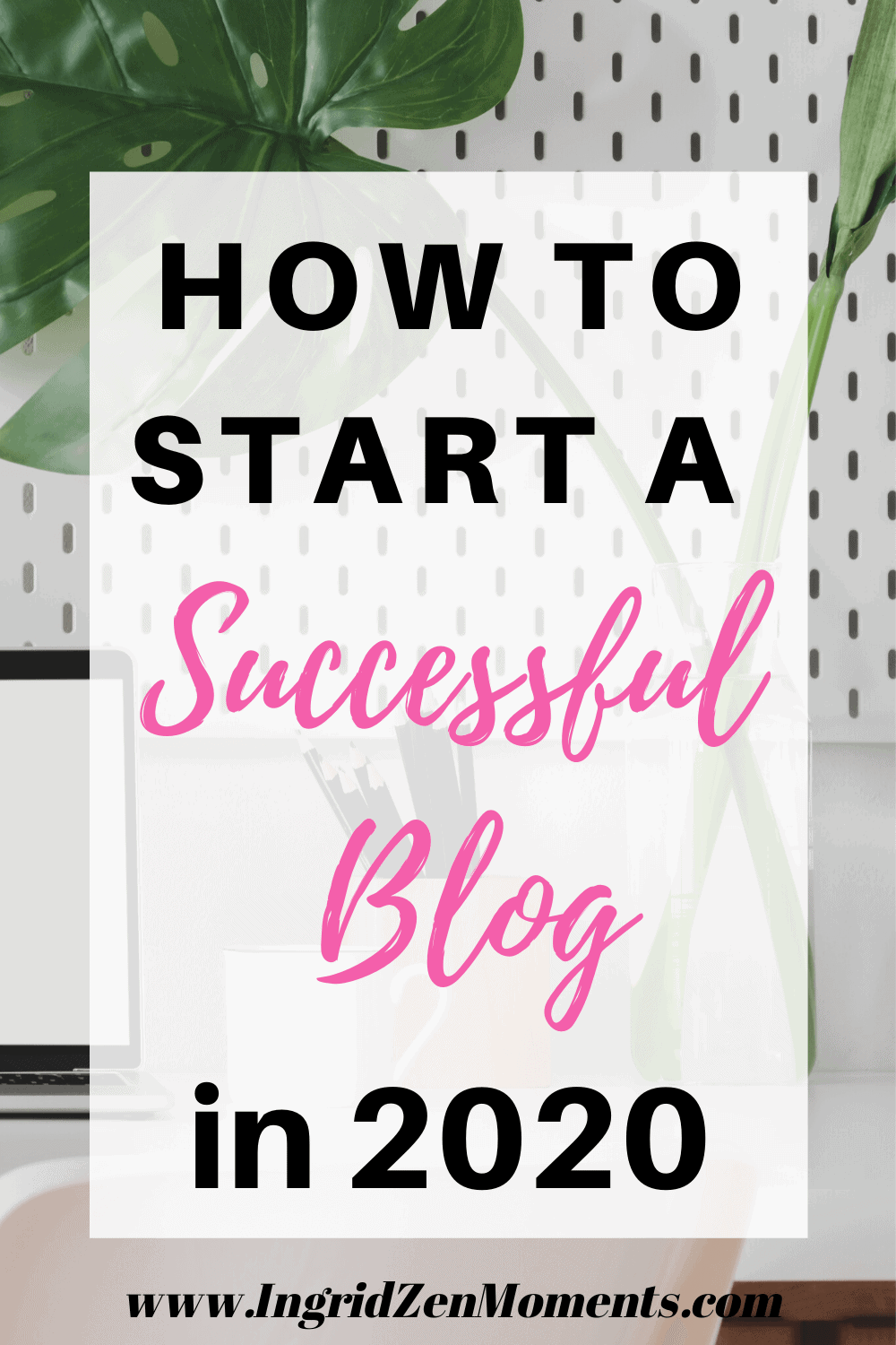 Do you want to know how to start a blog in 2020 that will both be successful and make money? When I first started my blog I knew nothing about blogging and I've made so many blogging mistakes I don't want to to make. Read this beginners guide to starting a blog in 2020 and make your dream come true and start a wordpress blog. #startablog #startingablog #bloggingforbegginers