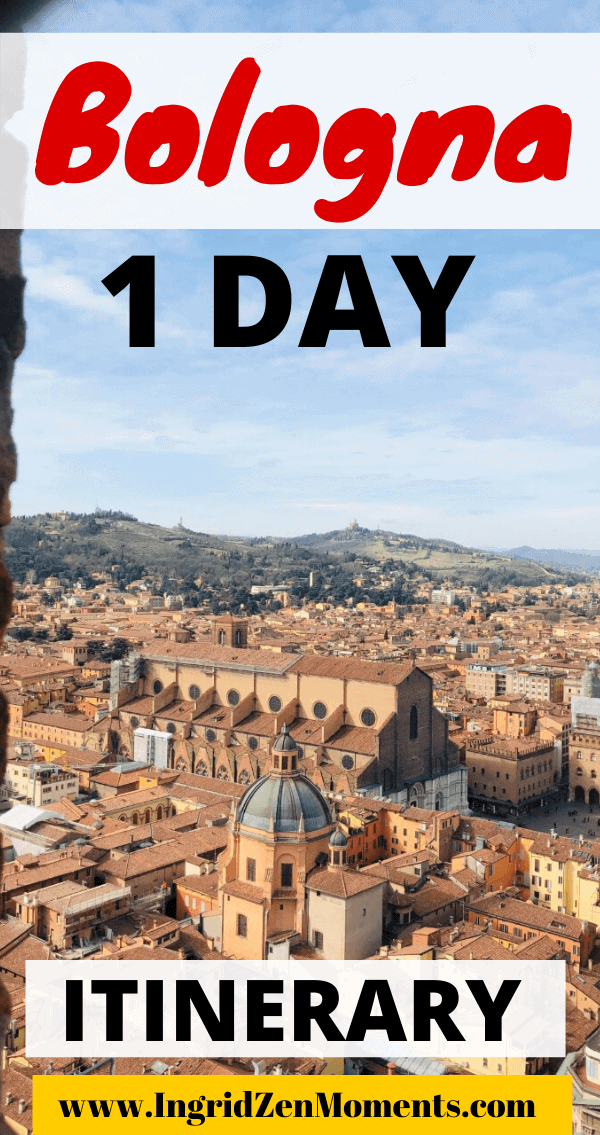Things to do in Bologna in one day - everything you don't want to miss on your Italy trip to Bologna. The best food not to miss in Bologna, the prettiest views, and where to go and what to eat in one day in Bologna.