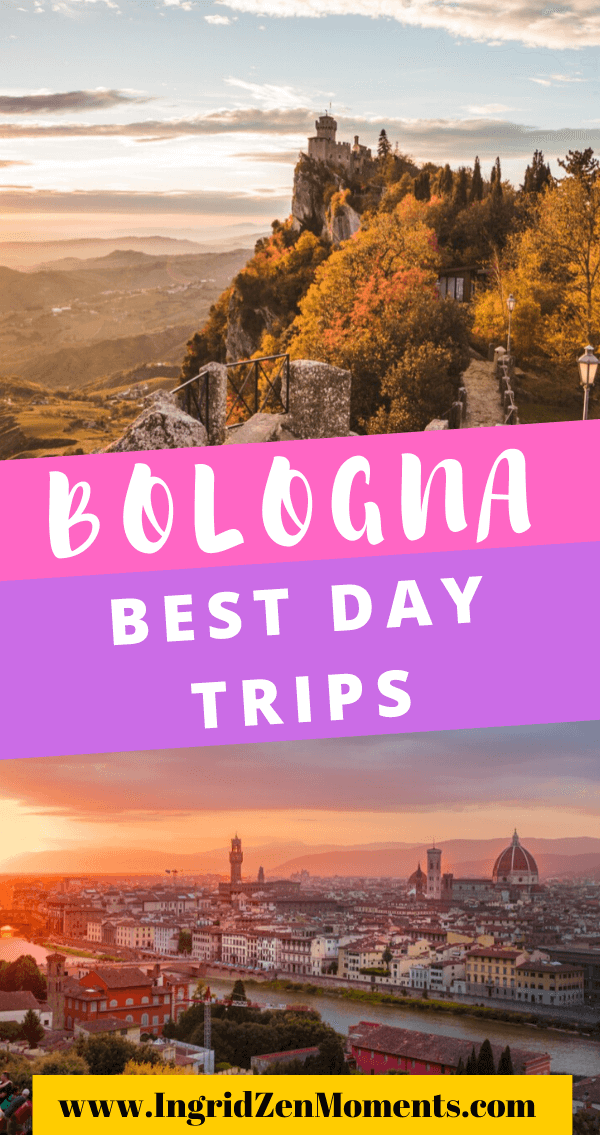 The ultimate list of the best day trips from Bologna, Italy - see some popular destinations but also some small Italian villages where you can skip the crowds and see the real Italy aesthetics. visit Italy and these 22 destinations form Bologna to include on your Italy trip.