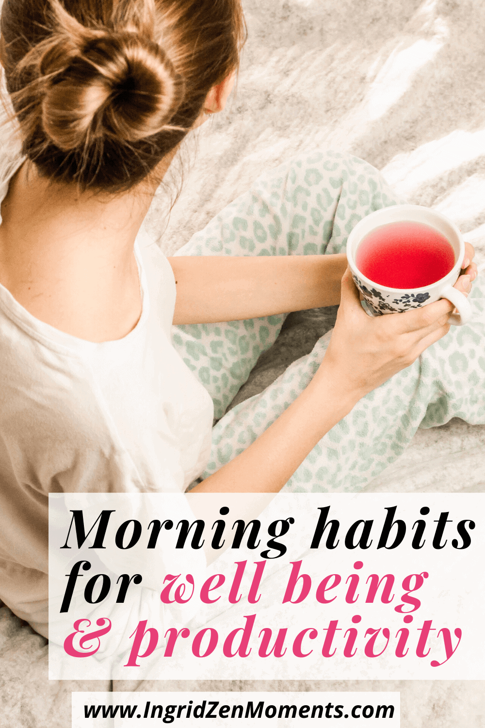 Morning routine for productivity and wellness