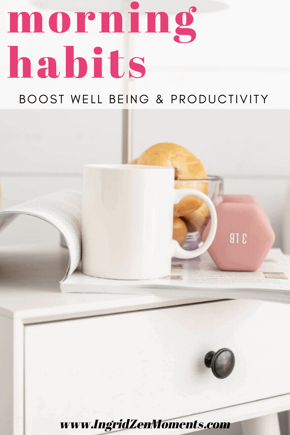 Morning habits for well being and productivity