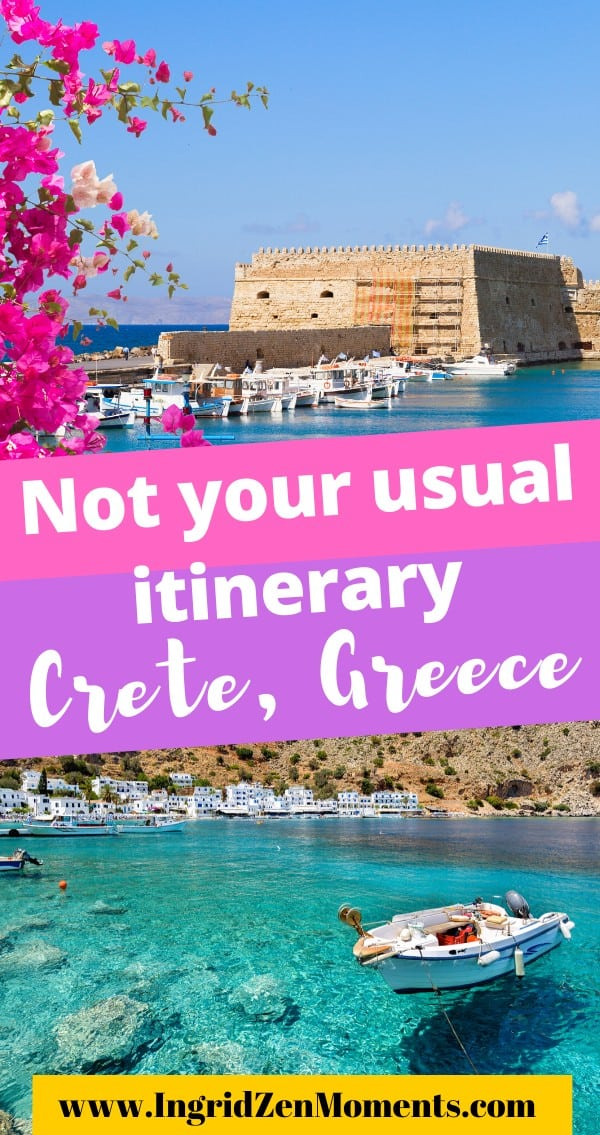 Crete things to do and itinerary