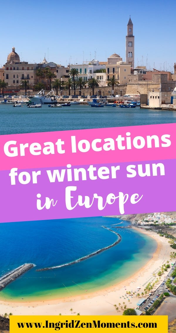 Europe winter sun destinations